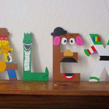 NEW! Toy Story Letter Art
