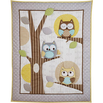 Walmart: Child of Mine by Carter's Treetop Friends Crib Bedding 3-Piece Set Collection Value Bundle