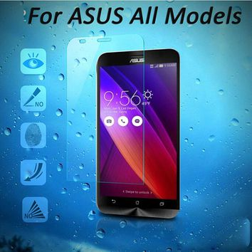 Tempered Glass Screen Protector for Asus Zenfone 2 ZE500CL ZE550ML Laser ZE500KL ZE550KL 4 A400CG 5 6 Selfie ZD551KL Case Film