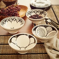 Hand-Painted Moroccan Serving Bowls