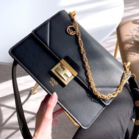 Free shipping-Fendi Women's Chain Bag Shoulder Bag Crossbody Bag