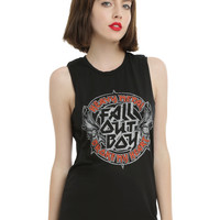 Fall Out Boy Heavy Metal Girls Muscle Top