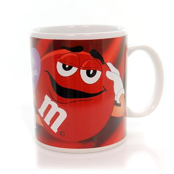 Licensed M & M Be Mine Mug Mug / Coffee Cup