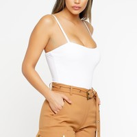 Back to Basics Bodysuit - White