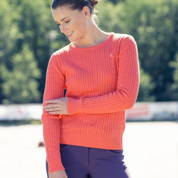 HorZe Rhoda Knitted Cable Sweater (More Colors!)