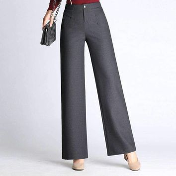 Womens Wide-Leg Pants