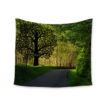 """Robin Dickinson """"Love Nature"""" Forest Wall Tapestry"""