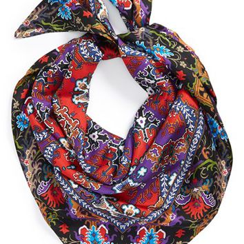 Women's Echo 'Persian Rug' Silk Square Scarf