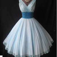 Charming Sweetheart Vintage Chiffon prom dress from Dresses 2013