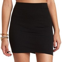 Body-Con Jacquard Mini Skirt