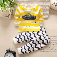 Baby Boy  cartoon Clothing Set