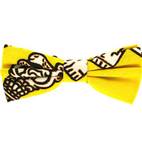 Tok Tok Designs Pre-Tied Bow Tie for Men & Teenagers (B418, African Wax Fabric)