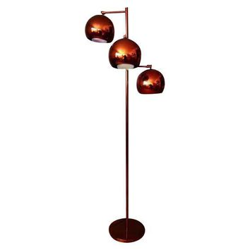 Pre-owned Koch and Lowy Adjustable Copper Floor Lamp