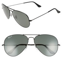 Ray-Ban Original 62mm Polarized Aviator Sunglasses | Nordstrom