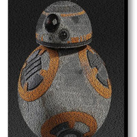 The Force Awakens Star Wars Terms BB-8 Droid Mosaic Print Limited Edition