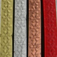Popular Gold, Silver, Copper, & Bright Red Flexible Sealing Wax (with wick) - 4 Sticks