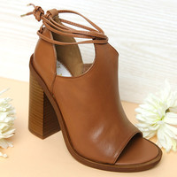 Windsor Smith - Tiara Heel - Tan