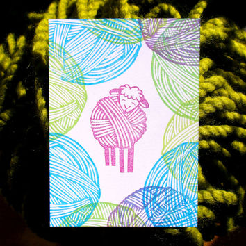 Ewe Are Lovely - Hand Carved Rubber Stamp