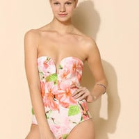 Shakuhachi Midsummer Neoprene One-Piece Swimsuit - Urban Outfitters