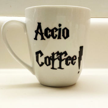 Accio Coffee Harry Potter 12 oz mug