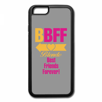 blonde best friend forever left arrow. iPhone 7 Case