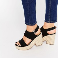 ASOS | ASOS TELL ALL Espadrille Wedge Sandals at ASOS