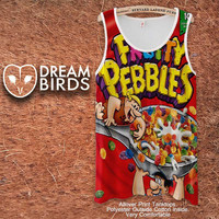 fruity pebbles Fullprint Adult Tanktop. Men and Ladies Tanktop