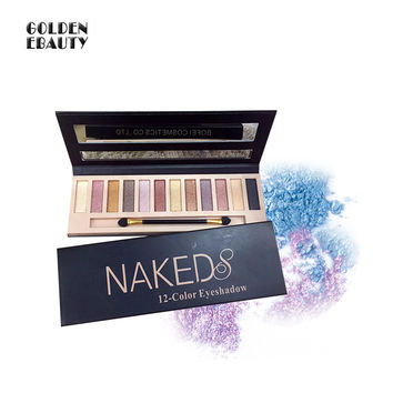 Fashion Naked 8 12 Colors Eye Shadow [10922848015]
