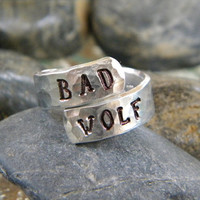 Bad Wolf Ring - Doctor Who Inspired