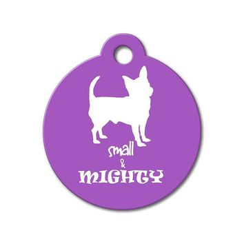 Small & Mighty - Funny Pet Tags