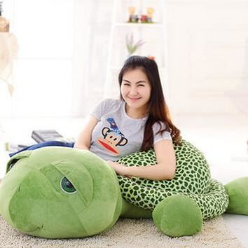 1pcs 60cm Love Apartment lovely Big Eyes Small Turtle Tortoise Doll Baby Toy Cute Doll Plush Toys Gifts for Children and Girls