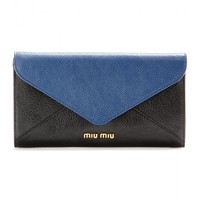 miu miu - leather wallet