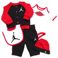 5 Pc Jordan's Wings Gift Set (Newborn)