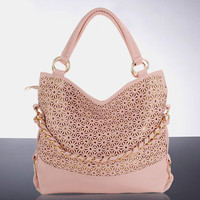 Hollow Out Sequined Shoulder Bag Handbag