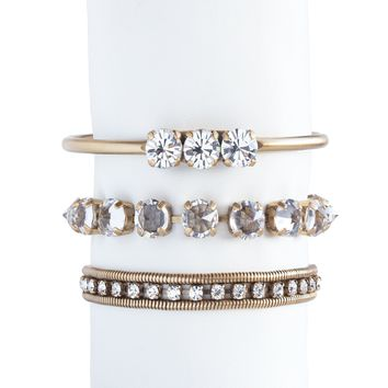 Wrist Bliss Stack in Crystal