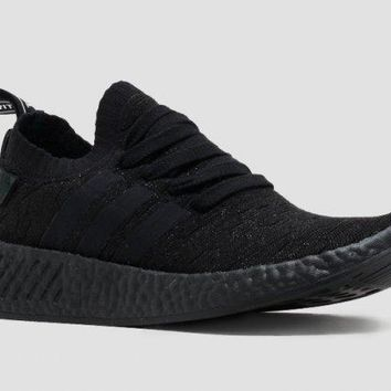 """Ready Stock"" adidas Originals NMD R2 ¡°Triple Black¡± Sneaker"