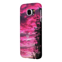 Pink Sunset Samsung Galaxy S6 Case Samsung Galaxy S6 Cases