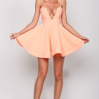 HelloMolly | Dancing with the Stars Dress Neon Orange