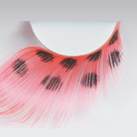 False Eyelashes Feather Red, False Eye Lashes Feather Red | EyesBright.com