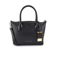 Ted Baker Women's Lauren Casual Leather Small Tote Bag - Black