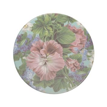 Vintage Flower Bouquet Coaster