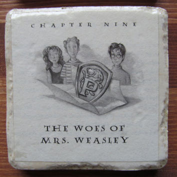 Harry Potter and the Woes of Mrs. Weasley Coaster