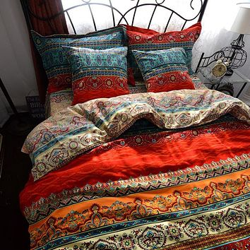3d bohemian bedding sets printed Mandala duvet cover set with Pillowcase queen size Bed linen