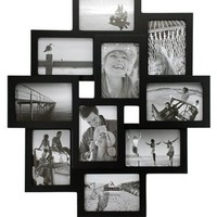 Malden Crossroads 3D 10-Slot Collage Picture Frames for 3-1/2-by-5-Inch Images