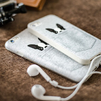 Cute Mini Pocket Dog Case for iPhone 6 6s Plus iPhone 5 5s Gift-13