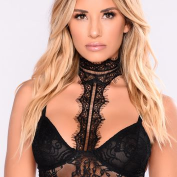 Always Fun Bralette - Black