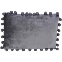 "Latitude Plush Pom Pom 12"" x 18"" Pillow - Walmart.com"