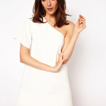 ASOS One Shoulder Shift Dress