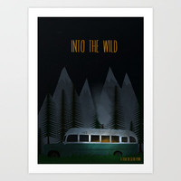 Into The Wild Art Print by TwO Owls