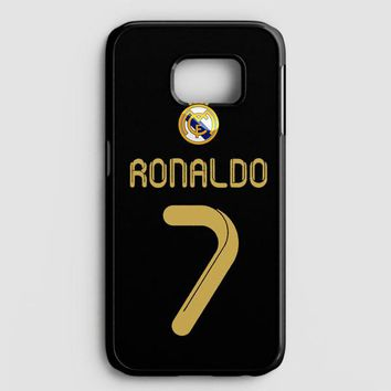 Real Madrid Ronaldo Cr7 Jersey Samsung Galaxy Note 8 Case